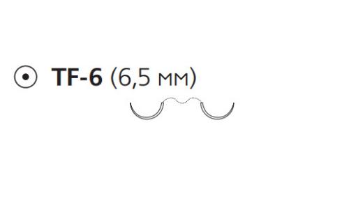 ПДС II (PDS II) 7/0, длина 70см, 2 кол. иглы 6,5мм Z1370E