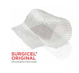 Гемостатический материал на основе целлюлозы Серджисел (Surgicel), биохирургия, 1,25см x 5см (1906GB) Ethicon (Этикон)