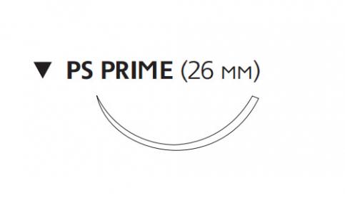 Рассасывающийся шовный материал Викрил Рапид (Vicryl Rapide) 3/0, длина 75см, обр-реж. игла 26мм Prime, 3/8 окр., неокрашенная нить (W9932) Ethicon (Этикон)