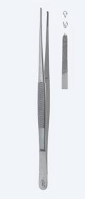 Пинцет хирургический Waugh (Вог) PZ1600