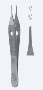 Пинцет хирургический Adson (Адсон) PZ1040