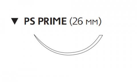 Нерассасывающийся шовный материал Пролен (Prolene) 2/0, длина 45см, обр-реж. игла 26мм Prime, 3/8 окр. (W8026T) Ethicon (Этикон)