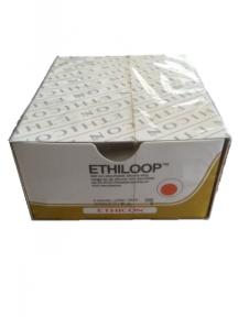 Этилуп (Ethiloop) джгут 2см х 45см диам. 2мм красный (EH387)