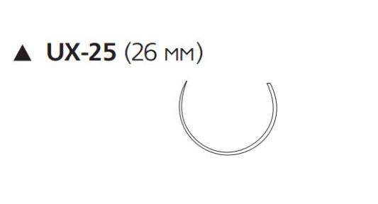 Викрил (Vicryl) 3/0, длина 75см, реж. игла 26мм W9730