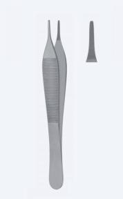 Пинцет микро анатомический Adson (Адсон) PZ0561