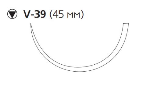 ПДС Плюс (PDS Plus) 1, длина 90см, кол-реж. игла 45мм PDP9385H