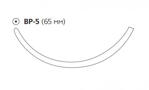 Викрил Плюс (Vicryl Plus) 1, длина 100см, тупоконечная игла 65мм VCP9391G