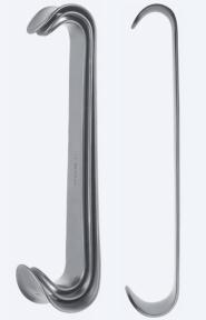 Ретрактор (ранорасширитель) хирургический двусторонний Roux (Роукс) WH0250
