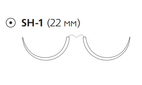 ПДС Плюс (PDS Plus) 3/0, длина 70см, 2 кол. иглы 22мм PDP1311H