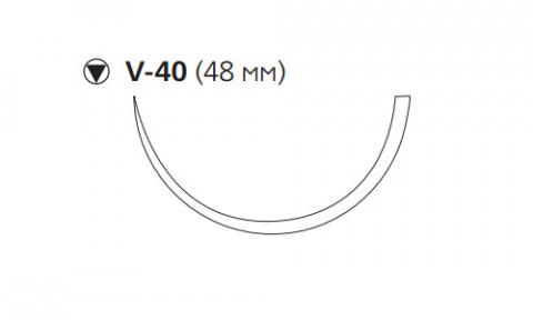 ПДС II (PDS II) 1, длина 90см, кол-реж. игла 48мм W9396T