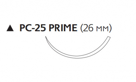 Викрил Плюс (Vicryl Plus) 2/0, длина 70см, реж. игла 26мм Prime VCP9582H