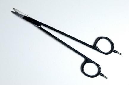 Биполярные ножницы Powerstar Метценбаума с точечными концами, изогнутые (BP340)