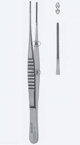 Пинцет атравматический DeBakey (ДеБейки) GF0848