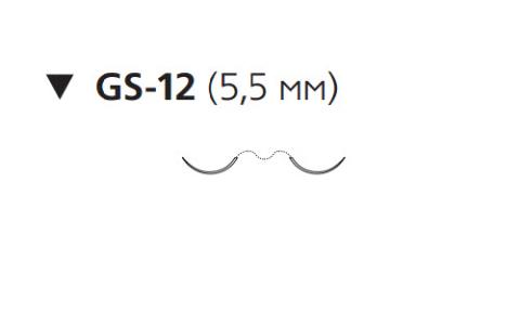Пролен (Prolene) 10/0, длина 30см, 2 обр-реж. иглы 5,5мм EH7598G