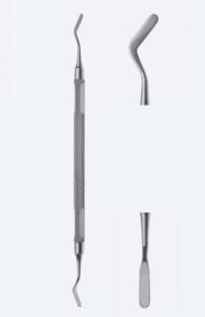 Шпатель двусторонний Mannerfelt (Маннерфелт) WH3740
