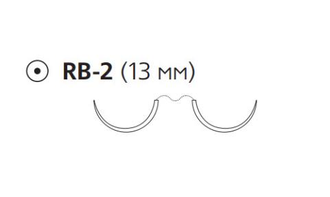 Пронова (Pronova) 5/0, длина 75см, 2 кол. иглы 13мм PN8500H