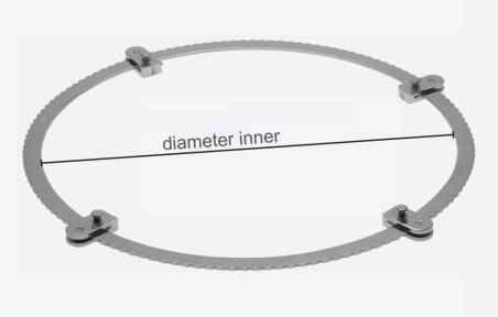 Ретрактор (ранорасширитель) абдоминальный Zenker (Ценкер) WH0006