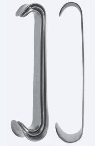 Ретрактор (ранорасширитель) раневой двусторонний Roux (Роукс) WH0260