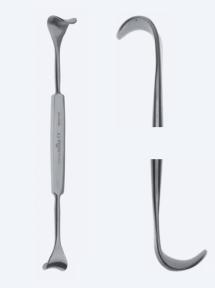 Ретрактор (ранорасширитель) раневой двусторонний Rose (Роуз) WH0150