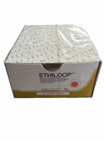 Этилуп (Ethiloop) джгут 2см х 45см диам. 1,3 мм белый (EH382E)