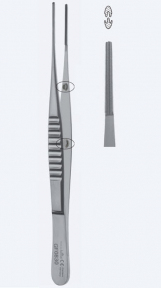 Пинцет атравматический DeBakey (ДеБейки) GF0740