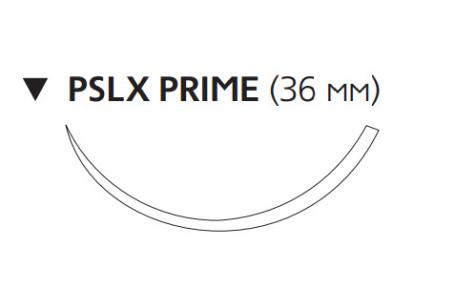 Рассасывающийся шовный материал Викрил Рапид (Vicryl Rapide) 3/0, длина 75см, обр-реж. игла 36мм Prime, 3/8 окр., неокрашенная нить (W9937) Ethicon (Этикон)
