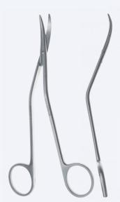 Ножницы диссекционные для артериотомии DeBakey (ДеБейки) SC2510-1