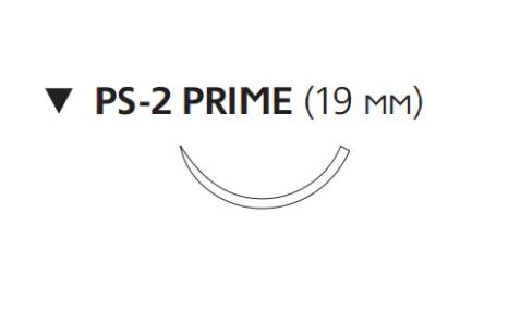 Рассасывающийся шовный материал Викрил Рапид (Vicryl Rapide) 4/0, длина 75см, обр-реж. игла 19мм, 3/8 окр., неокрашенная нить (W9922) Ethicon (Этикон)
