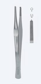 Пинцет хирургический Lane (Лейн) PZ1420