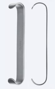 Ретрактор (ранорасширитель) двусторонний Parker (Паркер) WH0210