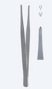 Пинцет хирургический Treves (Тривис) PZ1719