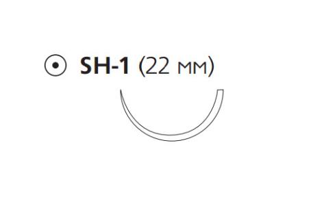 Монокрил Плюс (Monocryl Plus) 3/0, длина 70см, кол. игла 22мм MCP219G