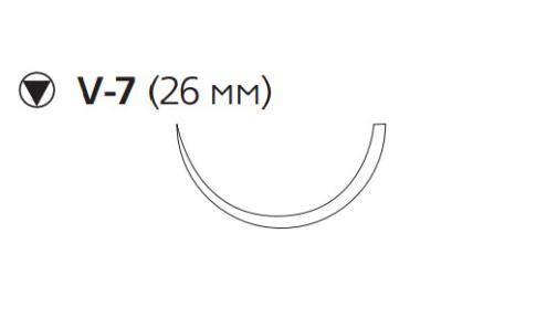 ПДС Плюс (PDS Plus) 2/0, длина 70см, кол-реж. игла 26мм PDP9184H