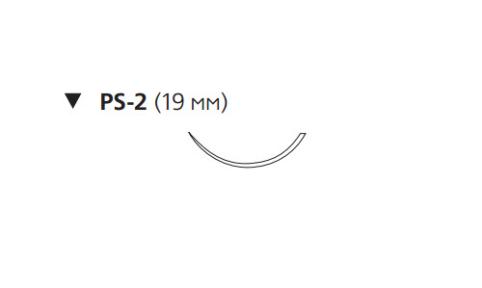 Этибонд Эксель (Ethibond Excel) 4/0, длина 45см, обр-реж. игла 19мм W6582