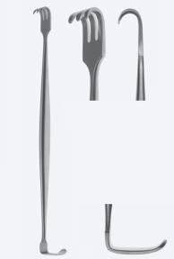 Ретрактор (ранорасширитель) двусторонний Senn-Miller (Сенн-Миллер) WH0131