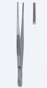 Пинцет анатомический Cross (Кросс) PZ0337