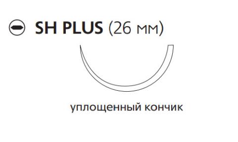 ПДС Плюс (PDS Plus) 3/0, длина 70см, кол. игла 26мм PDP9124H