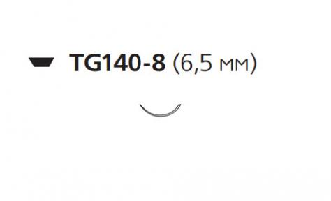 Пролен (Prolene) 9/0, длина 23см, игла 6,5мм W1709