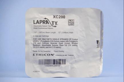 Клипсы для клипаппликатор Лапра Ти (Lapra TY) XC200