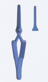 Клипса (зажим, клемма) бульдог атравматическая DeBakey (ДеБейки) титановая GF8412