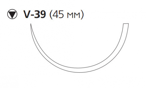ПДС Плюс (PDS Plus) 0, длина 90см, кол-реж. игла 45мм PDP9384H