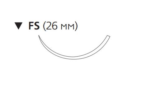 ПДС Плюс (PDS Plus) 3/0, длина 45см, обр-реж. игла 26мм PDP9957H