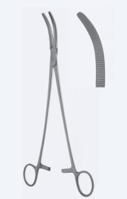 Зажим для гистерэктомии Wertheim (Вертхайм) KL4940