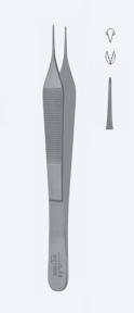 Пинцет микро хирургический Adson (Адсон) PZ1095