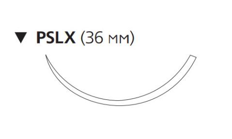 Нерассасывающийся шовный материал Этилон (Ethilon) 3/0, длина 75см, обр-реж. игла 36мм, 3/8 окр., синяя нить (W1627T) Ethicon (Этикон)