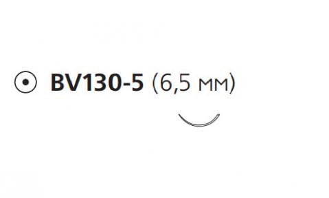Пролен (Prolene) 8/0, длина 13см, кол. игла 6,5мм BV130 W2775