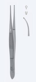 Пинцет хирургический для иридэктомии Graefe (Грефе) AU1051