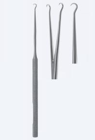 Ретрактор (ранорасширитель) хирургический твердый для кожи Barsky (Барски) WH3488