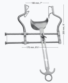 Ретрактор (ранорасширитель) абдоминальный хирургический