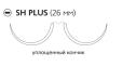 Рассасывающийся шовный материал ПДС II (PDS II) 3/0, длина 70см, 2 кол. иглы 26мм, 1/2 окр., уплощенный кончик, фиолетовая нить (PFF2993H) Ethicon (Этикон)